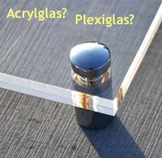 unterschied zwischen acrylglas und plexiglas r. Black Bedroom Furniture Sets. Home Design Ideas