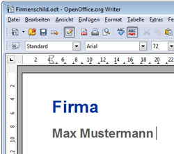 Text Software - OpenOffice